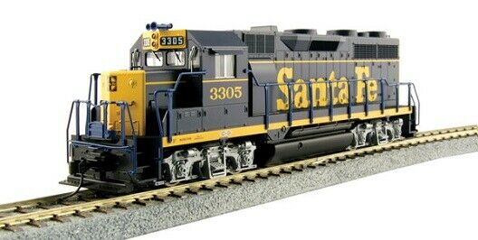 Kato   373022 EMD GP35 Phase Ia - Standard DC AT & SF Dress blu    3305 HO MIB