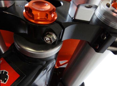 Honda CRF450 Triple Clamp Fork Axle Pinch Bolt Würks Kit Nickel Wurks Ti look