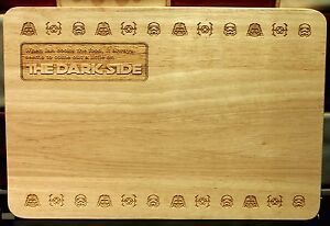 Personalised star wars themed chopping board kitchen housewarming image is loading personalised star wars themed chopping board kitchen housewarming urtaz Image collections