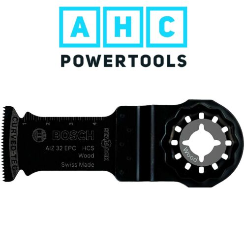 Wood 40 x 32 mm Bosch STARLOCK HCS plunge cut saw blade AIZ 32 EC 2608661637