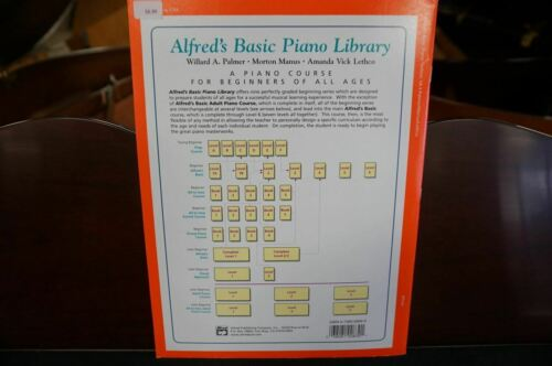 Alfred/'s Basic Piano Library Technic Book Level 1A