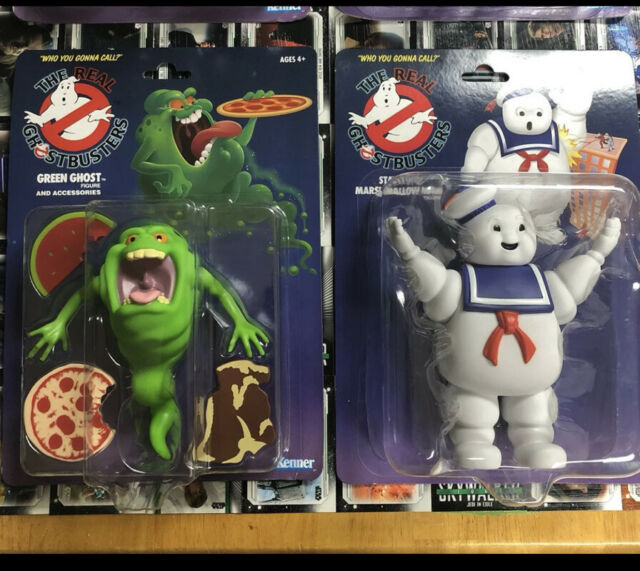 2020 The Real Ghostbusters Kenner Stay Puft & Green Ghost