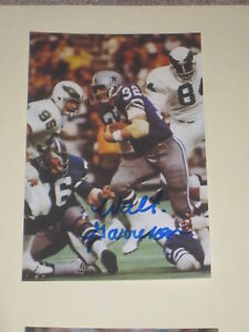 70c02ada96b Dallas Cowboys WALT GARRISON Signed 4x6 Photo NFL AUTOGRAPH 1 | eBay