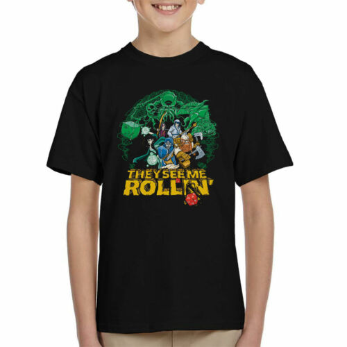 Se mi vedono ROLLIN Dungeons and Dragons KID/'S T-shirt