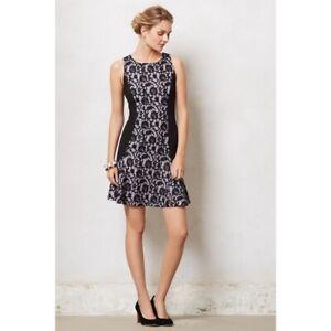 Anthropologie-Maeve-Sirena-Dress-Black-Lace-Large