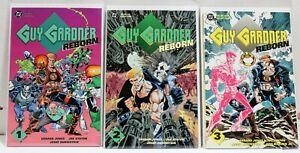 DC-Comics-Lot-3-Guy-Gardner-Reborn-COMPLETE-1-2-3-1992-NM-BAGGED-N-BOARDED