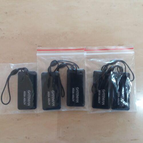 5pcs RFID Smart Key Tag Anneau Type pour iRevo Garde-Barrière Télécommande Digital serrures