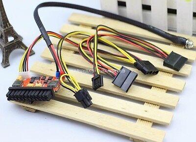 200W 24pin mini-ITX DC ATX car power supply w/ 16-24V DC wide range input F/ pc