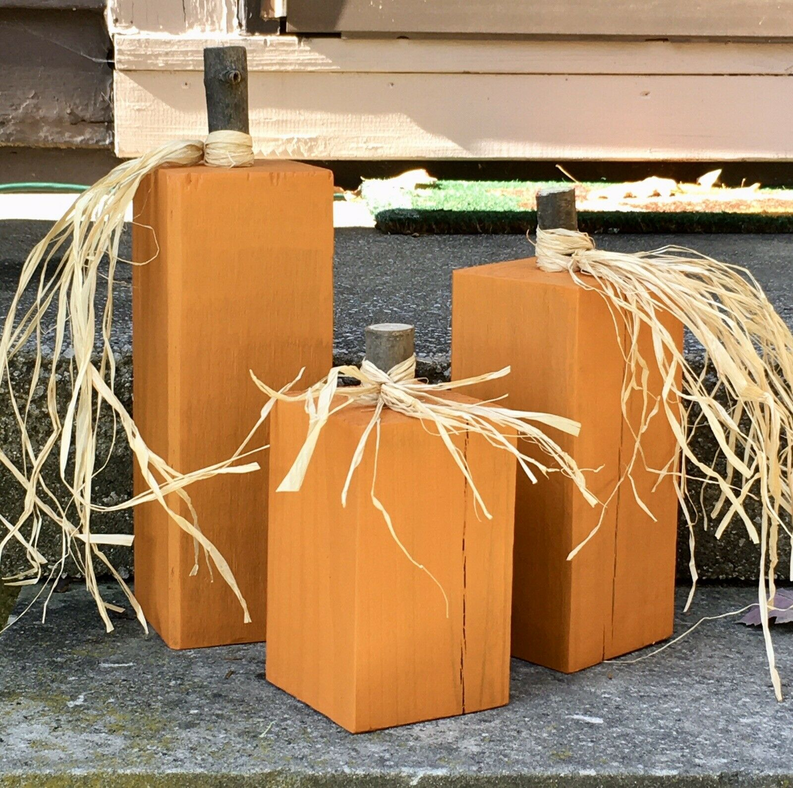 Fall Harvest Thanksgiving Table Centerpiece Indoor Outdoor Decor Pumpkins For Sale Online