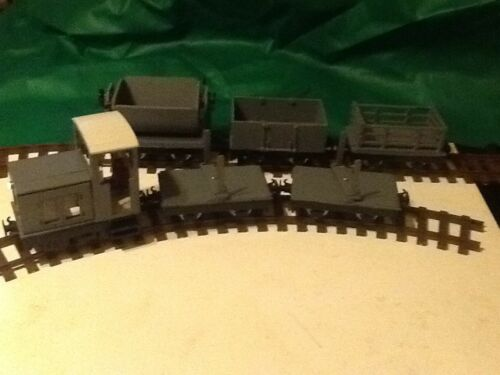 SM32 Complete Industrial Narrow Gauge Diesel Set 16mm Scale Garden Railway