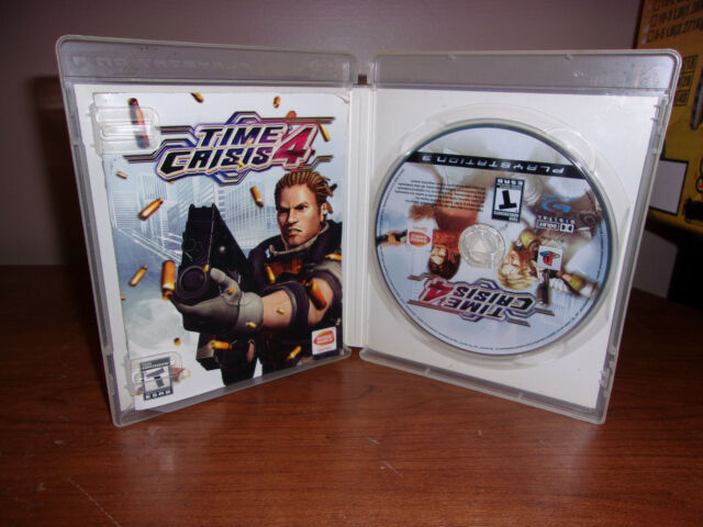 Time Crisis 4 (Sony PlayStation 3, 2007) PS3