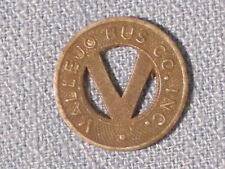* Vallejo Bus Co. Transit Token / First one here!