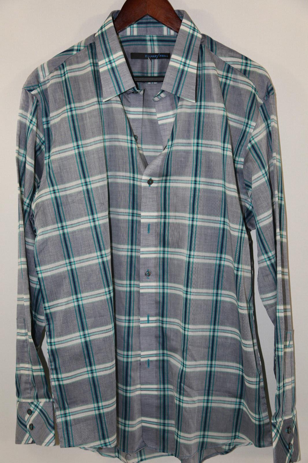 Zachary Prell Long Sleeve Sports Shirt Size XL