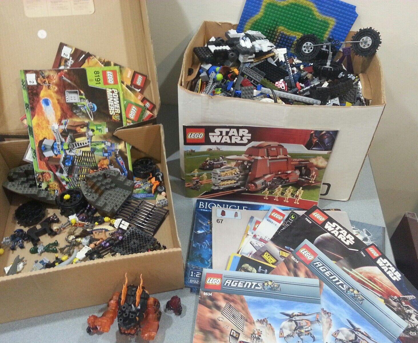 Huge lot lego star wars power miners 2518 7038 2504 8191 8927 7662 8634 7669