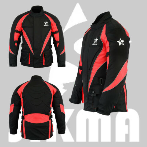 Men/'s Motorbike Trouser Cordura Waterproof CE Armour Bike Jackets//Bottom Suit