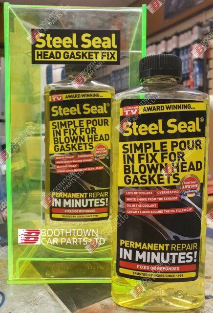 STEEL SEAL VW HEAD GASKET REPAIR, WARPED HEADS, CRACKED ENGINE BLOCKS