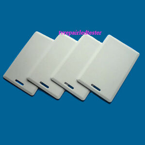 50Pcs-Thick-RFID-125KHz-Writable-Rewritable-T5577-Card-Proximity-Access-Card