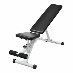 vidaXL-Fitness-Workout-Utility-Bench-Exercise-Weightlifting-Machine-Sports-Home