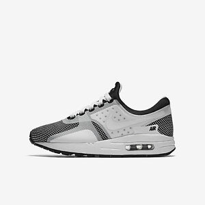 the best attitude 73aac e482a Image is loading Nike-Air-Max-Zero-Essential-GS-881224-001-