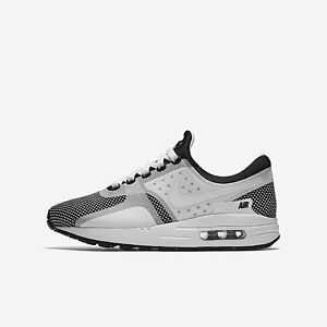 the best attitude 04b7e 4539d Image is loading Nike-Air-Max-Zero-Essential-GS-881224-001-