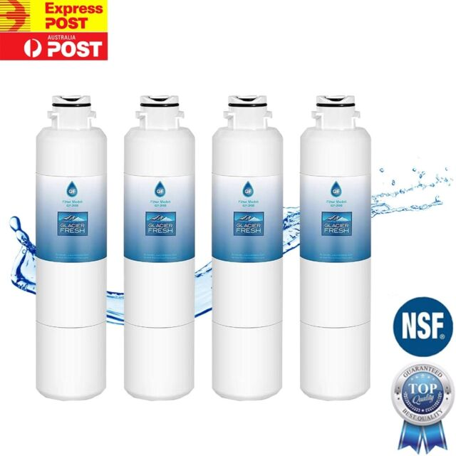 4 X Compatible Samsung DA29-00020B Premium Ice & Water Fridge Filter SRF680CDLS