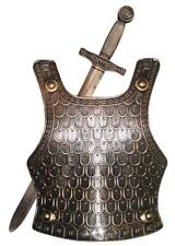 Medieval Knight Armour Set Roman Sword Cosplay Fancy Dress Soldier Breast Plate