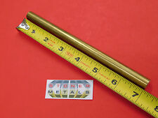 12 C360 Brass Solid Round Rod 7 Long H02 50 Od New Lathe Bar Stock 12 Hard