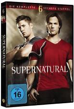 SUPERNATURAL Season Staffel 6 komplett 6 DVD Box  Neu  OVP + gratis Geschenkbox