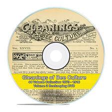 Gleanings of Bee Culture, 44 Volume Vintage Beekeeping Journal 1873-1916 DVD-V58