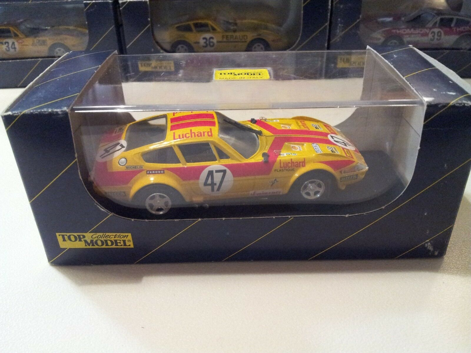 TOP MODEL Ferrari 365 GTB4 Daytona LeMans 1975 1975 1975 model 1 43 scale (Made in ) 9dda3c