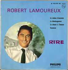 "ROBERT LAMOUREUX ""LA VOITURE D' OCCASION"" 60'S EP PHILIPS 432.070"