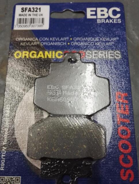 Vespa GT 125 L Granturismo 03-06 EBC Rear Brake Pads SFA321 Organic