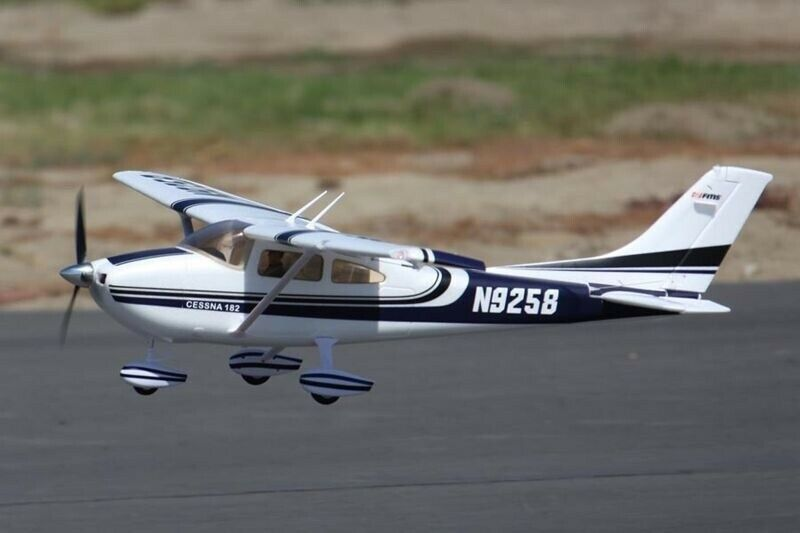 FMS Sky Trainer Trainer Trainer 182 PNP - 140 cm blue - DPFMS007P-AB 6a1e0f