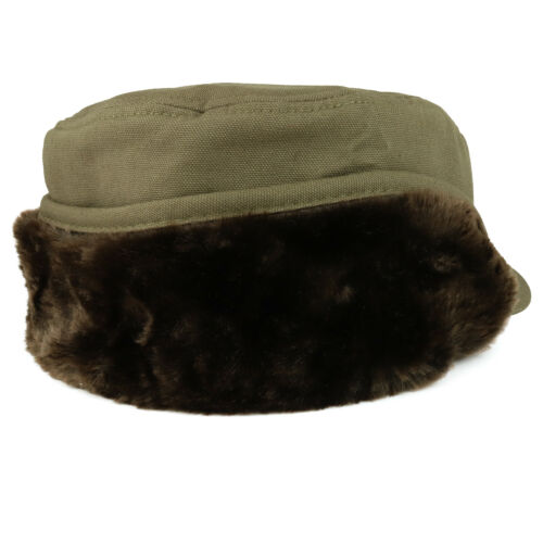 Men/'s Duck Work Superior Cotton Winter Ball Cap With Earflap FREE SHIPPING