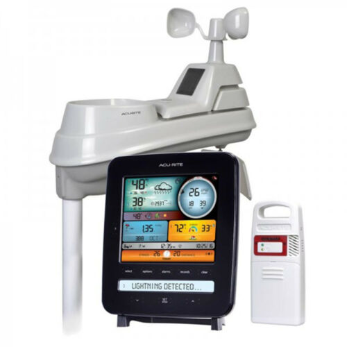 AcuRite Pro Weather Station 5-in-1 Weather Sensor /& Lightning Detection 01022M