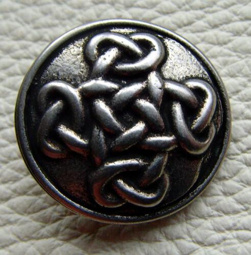 Vistosos remaches decorativos escudo Celtic nodo vikingo germanos Celtic Cross 3cm