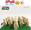 thumbnail 10 - 21pcs lot STAR WARS Clone Trooper Commander Fox Rex Mini toy building block