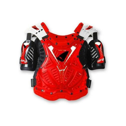 Pettorina motocross Shield one rosso