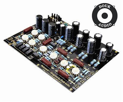 Douk Audio KONDO AUDIONOTE M77 Line and Phono AMP HiFi Tube Preamplifier Board