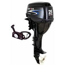 Brand New Outboard Parsun 25 hp, Remote control, short shaft , electric start