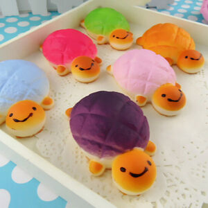 Soft-Kawaii-Turtle-Tortoise-Pineapple-Bun-Squishy-Bread-Bag-Phone-Strap-ATCA