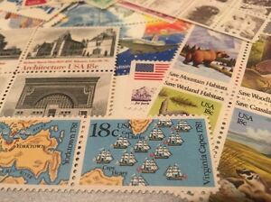 20-MNH-All-Different-18-cent-stamps