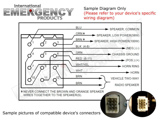 Federal Siren Wiring Diagram | Wiring Diagram AutoVehicle on