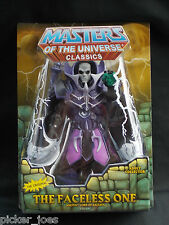 NEW 2010 Mattel MOTUC Masters Of The Universe Classics THE FACELESS ONE Figure