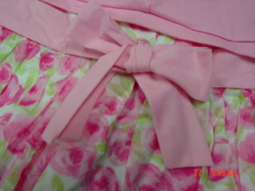 NWT Toddler Girls Dress Easter Wedding Pink Jacket Fancy George NEW