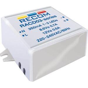 Recom-Lighting-21000128-3w-AC-DC-LED-Suministro-Electrico-3-12v-350ma