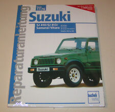 Reparaturanleitung Suzuki SJ 410, SJ 413, Samurai, Vitara - ab Baujahr 1984!