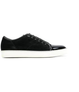 LANVIN toe cap  Men/'s shoes Fashion SNEAKERS  мужская 男鞋 紳士靴 100/%Authentic cI8