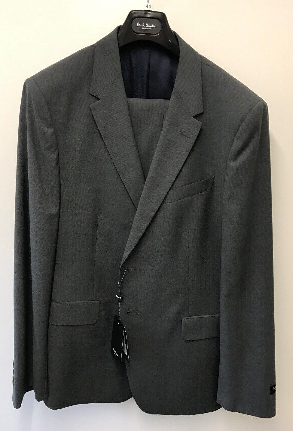 Paul Smith Grau Suit LONDON WILLOUGHBY CLASSIC Fit UK44R Chest 44