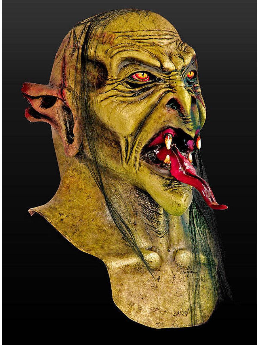 Serpents langue Masque Latex Halloween Monstre créature